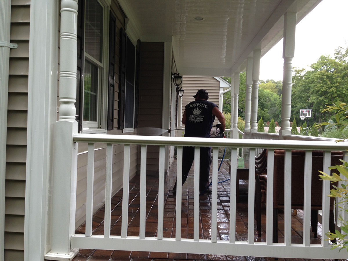 Pressure Washing Services In Lloyd Harbor Majestic Window Cleaning