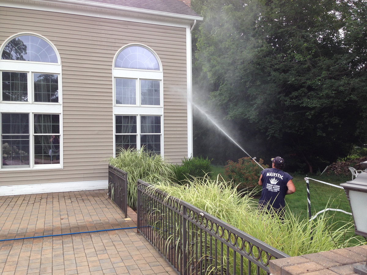 Give Your House A Bath This Spring Majestic Window Cleaning